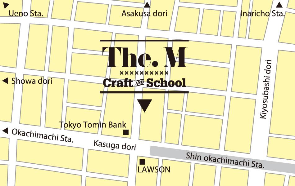 東京都台東区の彫金教室 the m contact